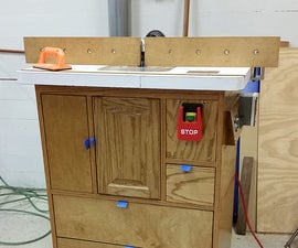 Digital Controls for Router Lift