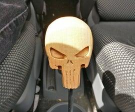 Punisher Skull - Gear Shift Knob for Toyota Aygo
