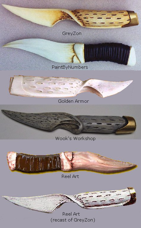 Picture of Lynch's Dune Fremen Crysknife and Sheath