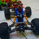DIY - Control Off-road Lego Car Through Internet (IoT) - Part 2 (Front Wheel/Steering)