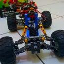 DIY - Control Off-road Lego Car Through Internet (IoT) - Part 2 (Front Wheel/Steering)
