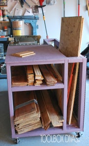 Table Saw Workbench With Wood Storage