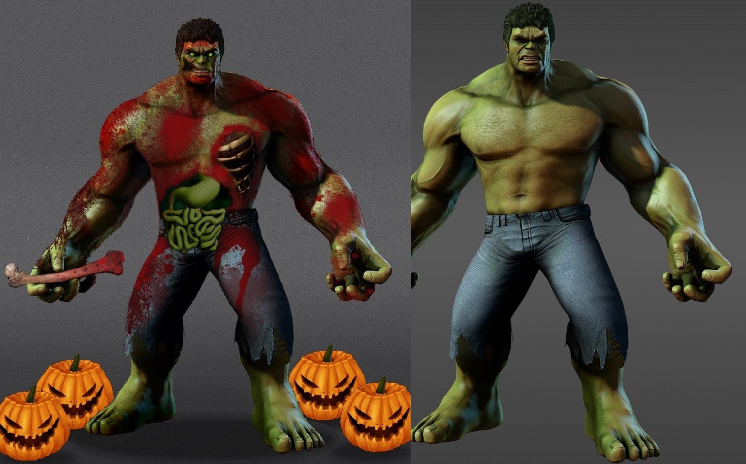 Picture of _ HULK Is ZOMBIE _ ________(PIXLR)