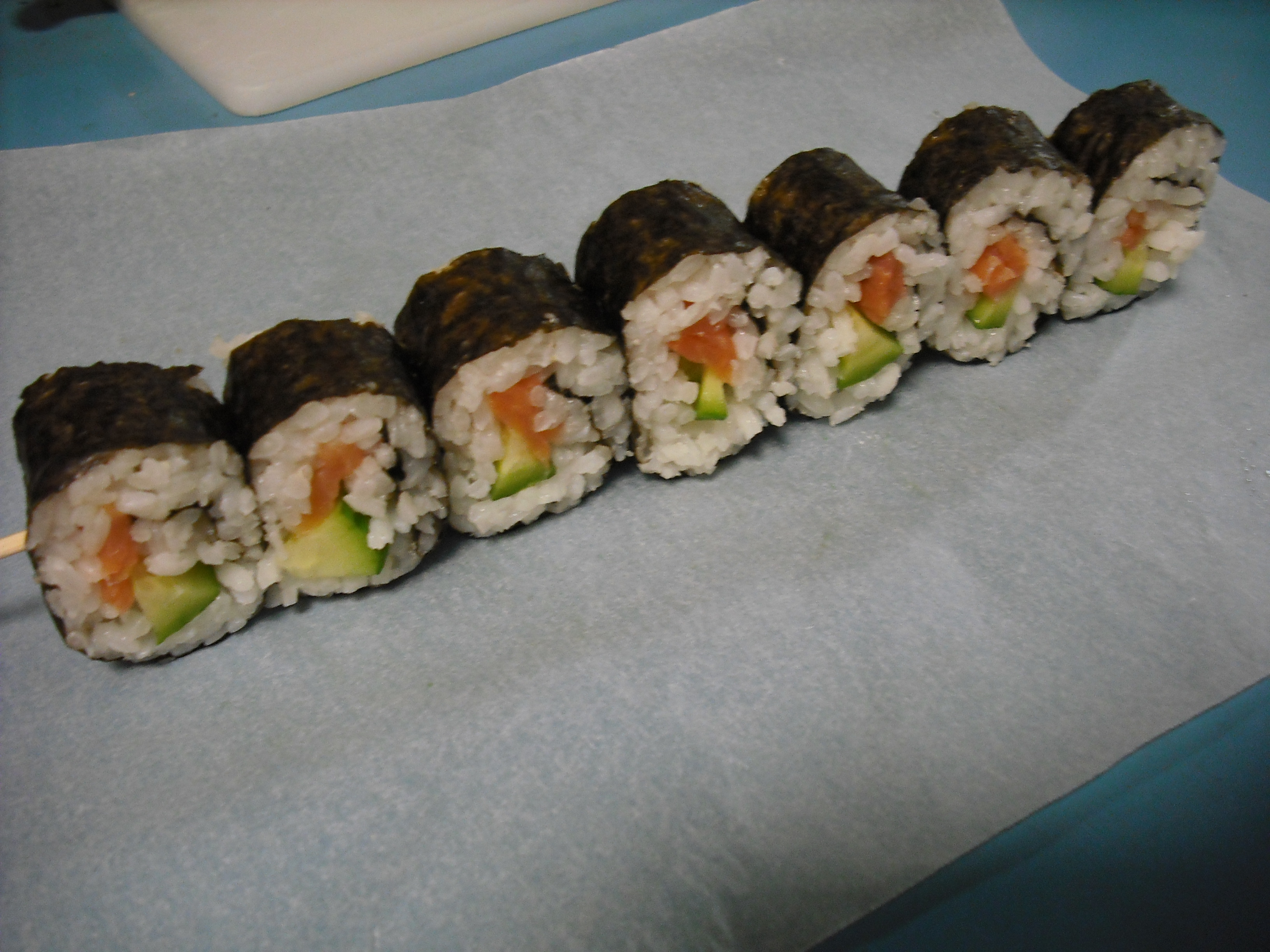 Picture of First Method: Nori Roll Kebab