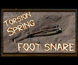 Primitive Torsion Spring Foot Snare