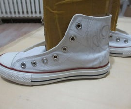 How to hand Painted Canvas Shoes?