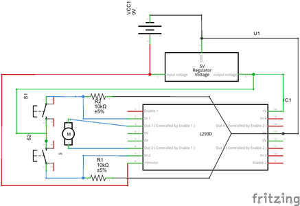 Controlling the Rotation Direction of the DC Motor