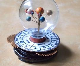 Miniature Revolving Solar System