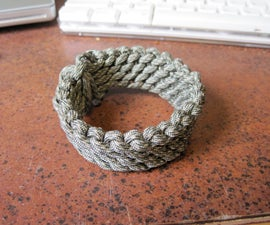 Slatts Paracord Rescue Bracelet (no buckle)