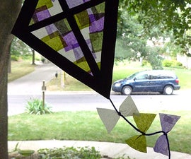"""""""Stained Glass"""" Kite"""