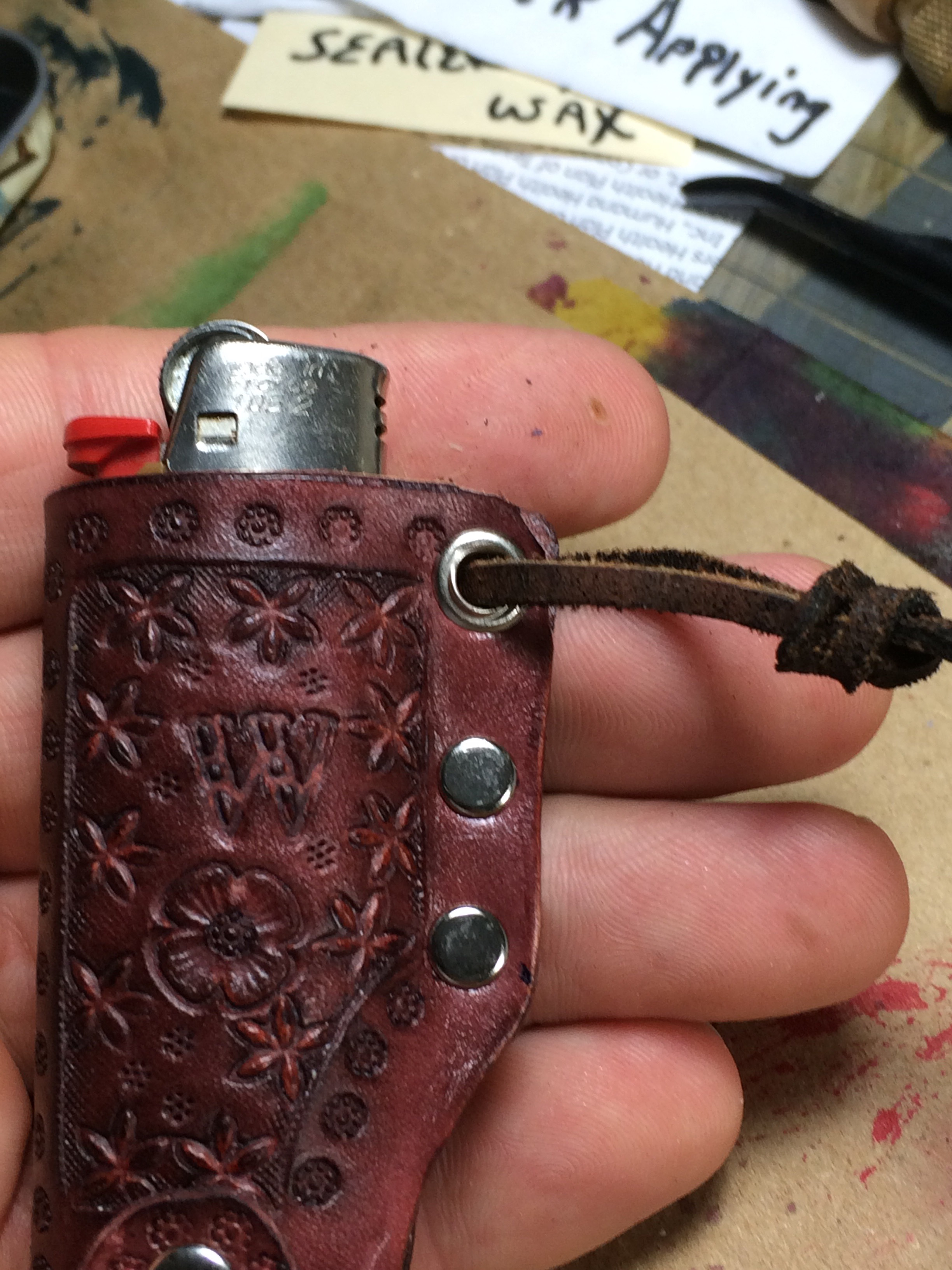 Picture of Leather Lighter Holster