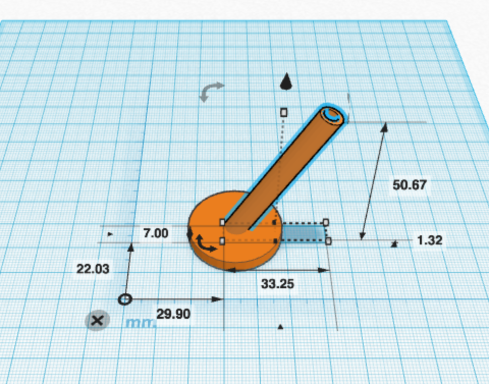 Picture of Create the Holder in Tinkercad