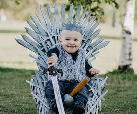 Baby-sized Iron Throne