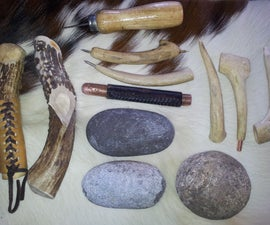 Flint Knapping Indirect Percussion Tool