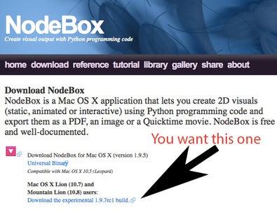 Download NodeBox