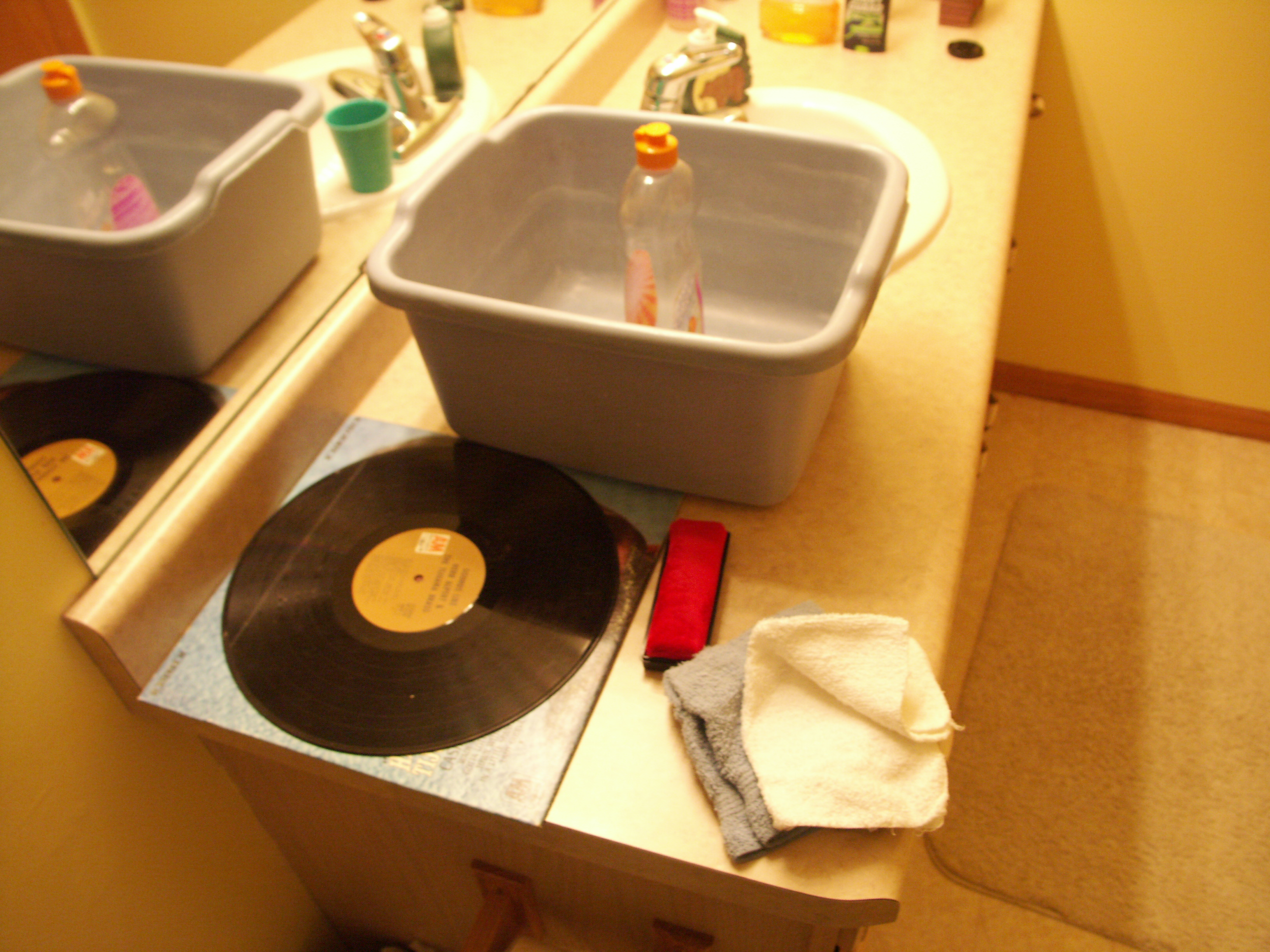 Cleaning vinyl records 6 steps with pictures picture of gather the items publicscrutiny Choice Image