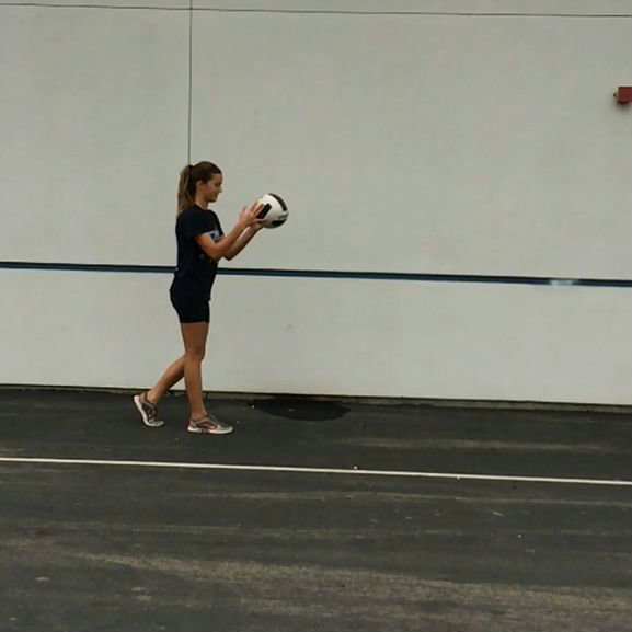 Picture of Easy Steps for the Perfect Overhand Serve