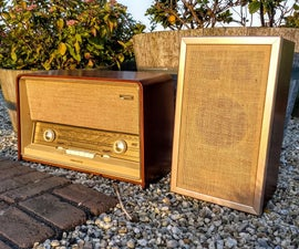 50's Philips Radio Saved From the Grave
