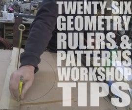 26 Geometry, Rulers & Patterns Workshop Tips - Featured Maker: Jimmy DiResta