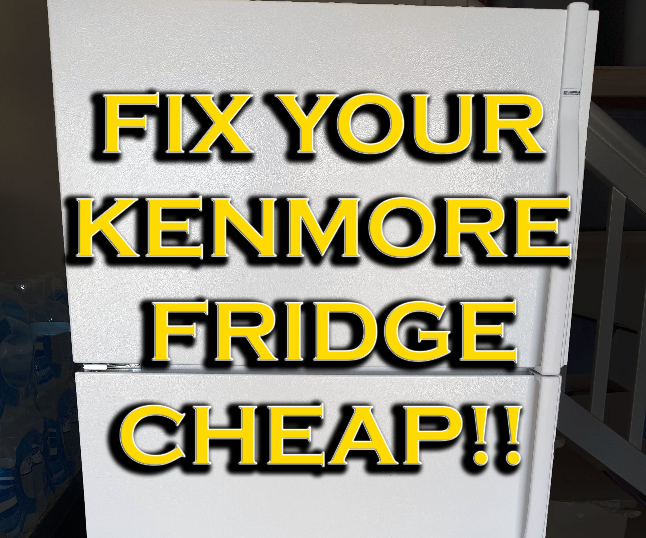 Fix Your Kenmore Fridge Cheap 13 Steps With Pictures Refrigerator Understanding Wiring Diagram Home Improvement