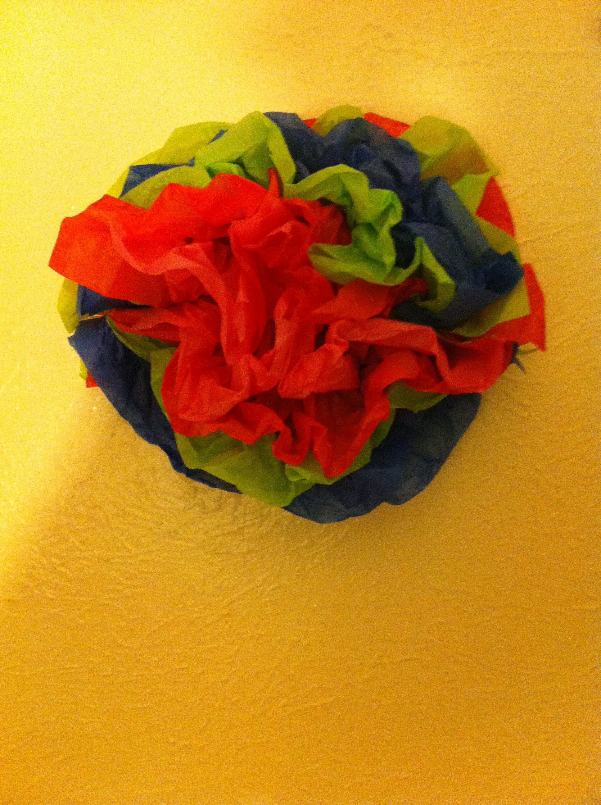 Picture of How to Make a Paper Flower Thing