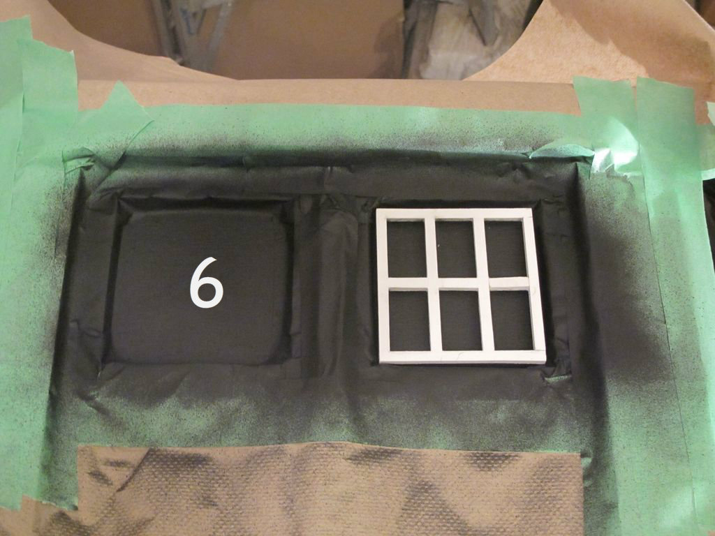 Picture of The Back 'windows' on the Side Table