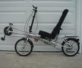 Home Built Recumbent Bike