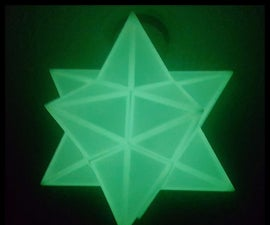 3D Printed Glow Star