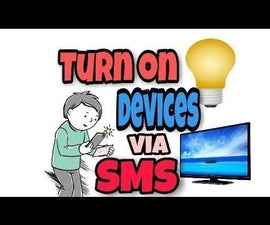 GSM Controlled Home Automation Using SIM800 With Arduino