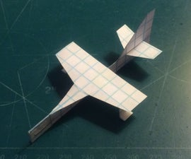 How To Make The UltraManx Paper Airplane