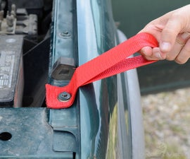 Adding a Mounting Point to a Vehicle That Has Nowhere to Tie Down a Canoe or Kayak