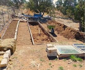 Making a Garden Bed in the High Desert