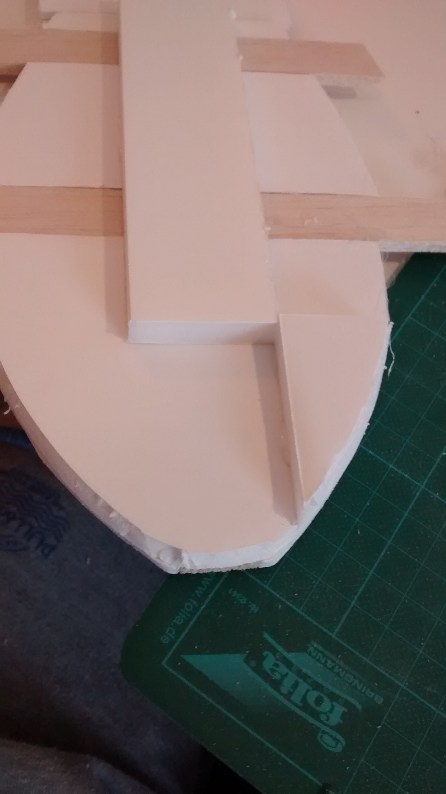 Picture of Finishing the Central Body