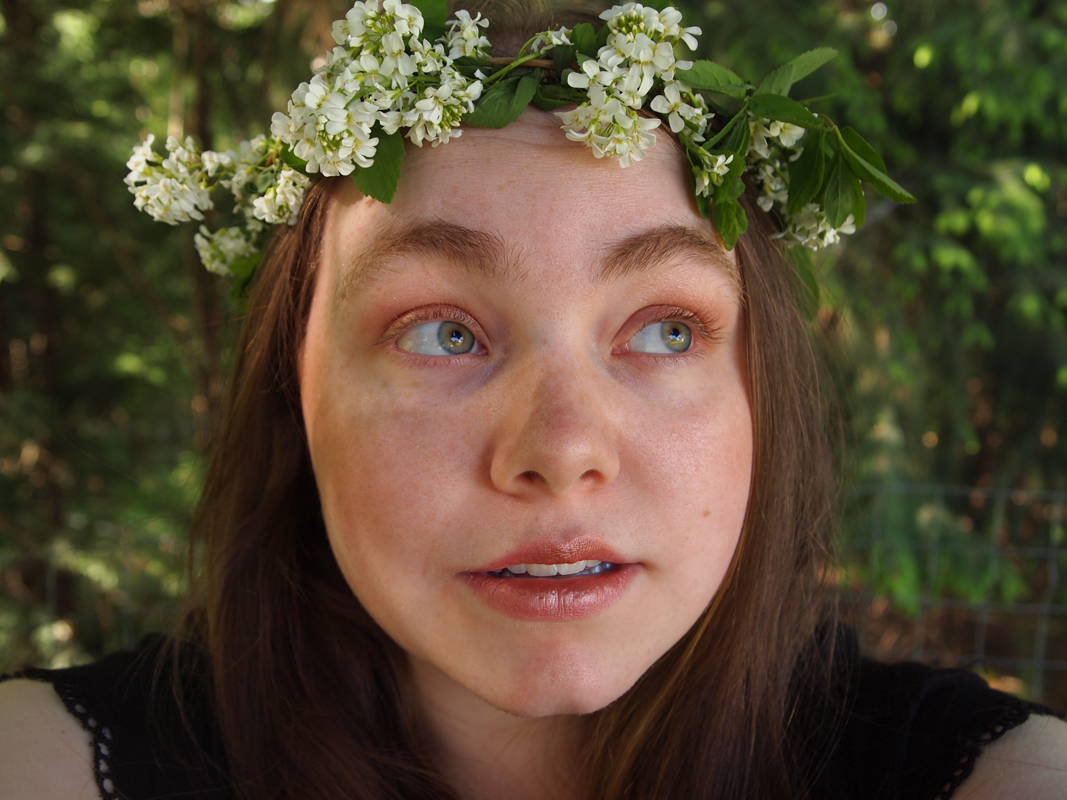 Diy real flower crowns 5 steps with pictures now you have a flower crown made of real flowers enjoy wearing your crown for any sort of event or simply to wear whenever you want izmirmasajfo