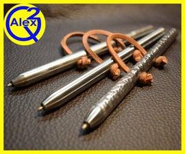 Making Kubotan Pens - No Lathe Pen Challenge