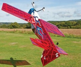 Fly 3D with a model plane