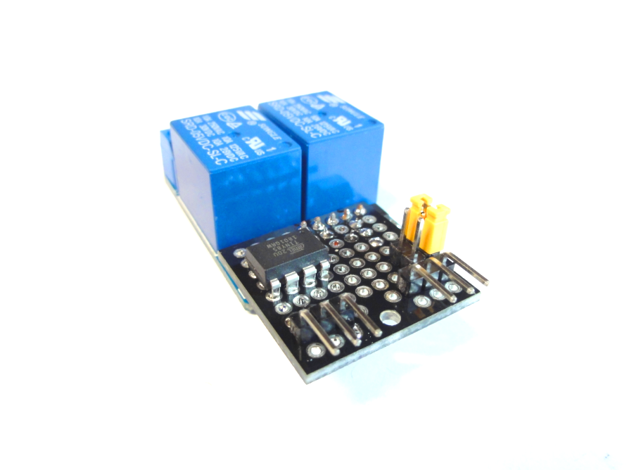 Picture of IOT123 - I2C 2CH RELAY BRICK