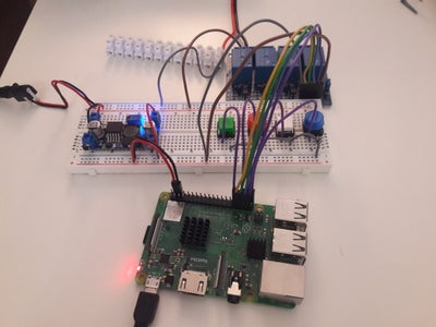 4CH Relay-board Controlled With Push Buttons