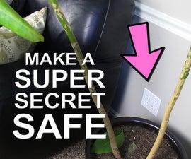 How to Make a Super Secret Safe - Für Weniger Als $ 3