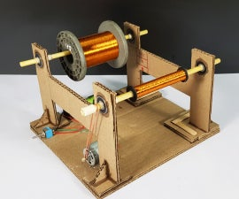 DIY - Coil Winding Machine
