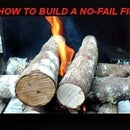 Build a no-fail fire in 4 easy steps