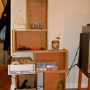 How to Build a Bookshelf from Drawers