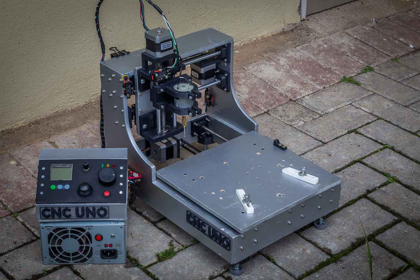 Picture of 3D Printed Desktop CNC Mill