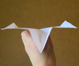 Contest Winning Paper Airplane