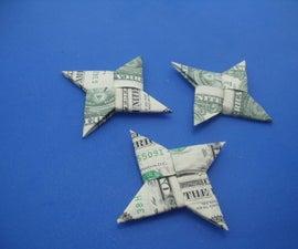 Dollar Bill Ninja Star