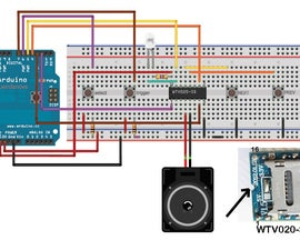 How to use WTV020SD-16P with Arduino