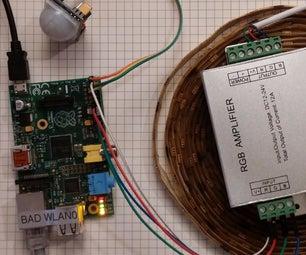 Easiest RGB LED Strip With Raspberry Pi!