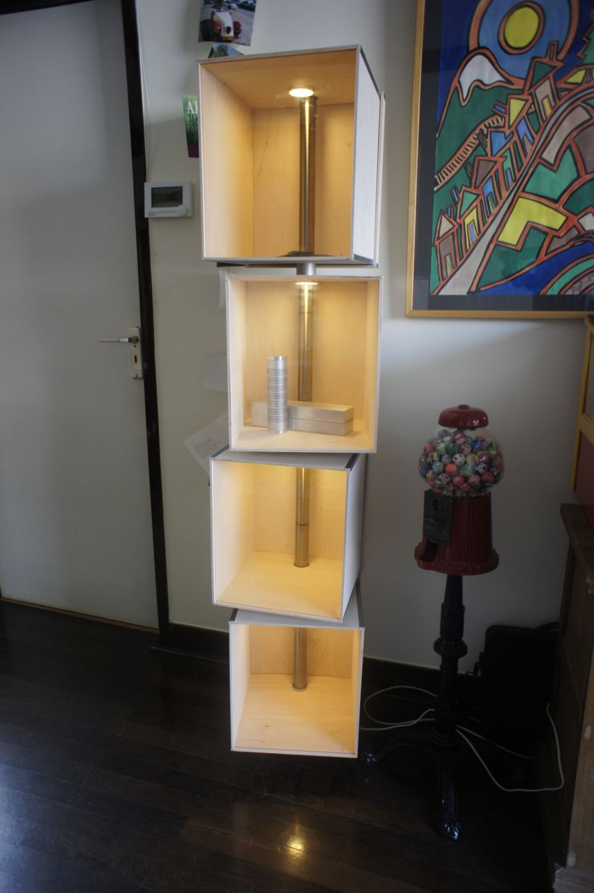 Picture of Design Showcase Cabinet (hacking IKEA Style)
