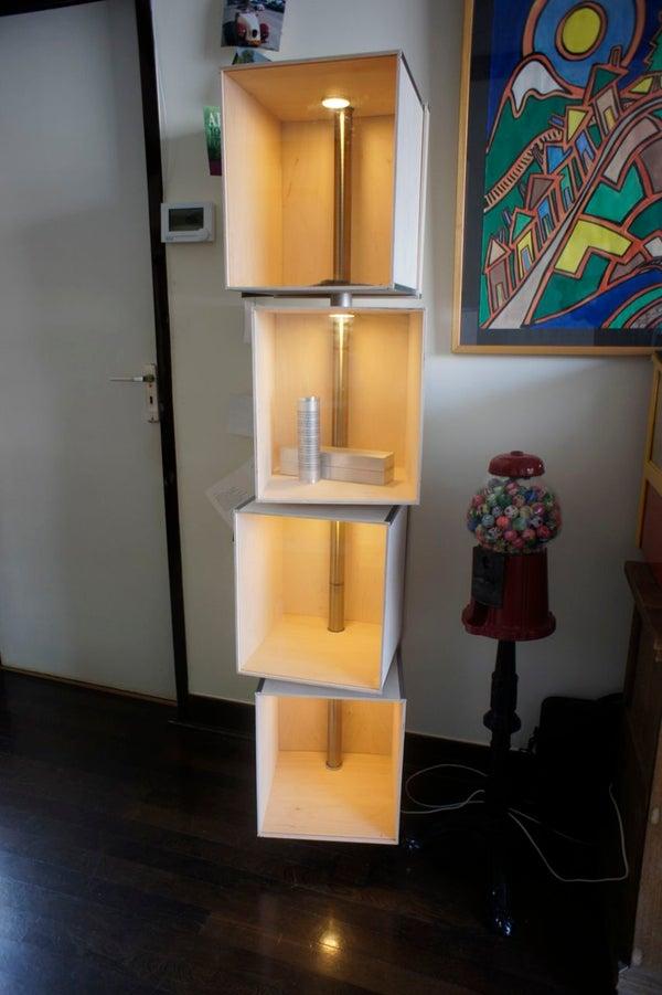Design Showcase Cabinet (hacking IKEA Style)