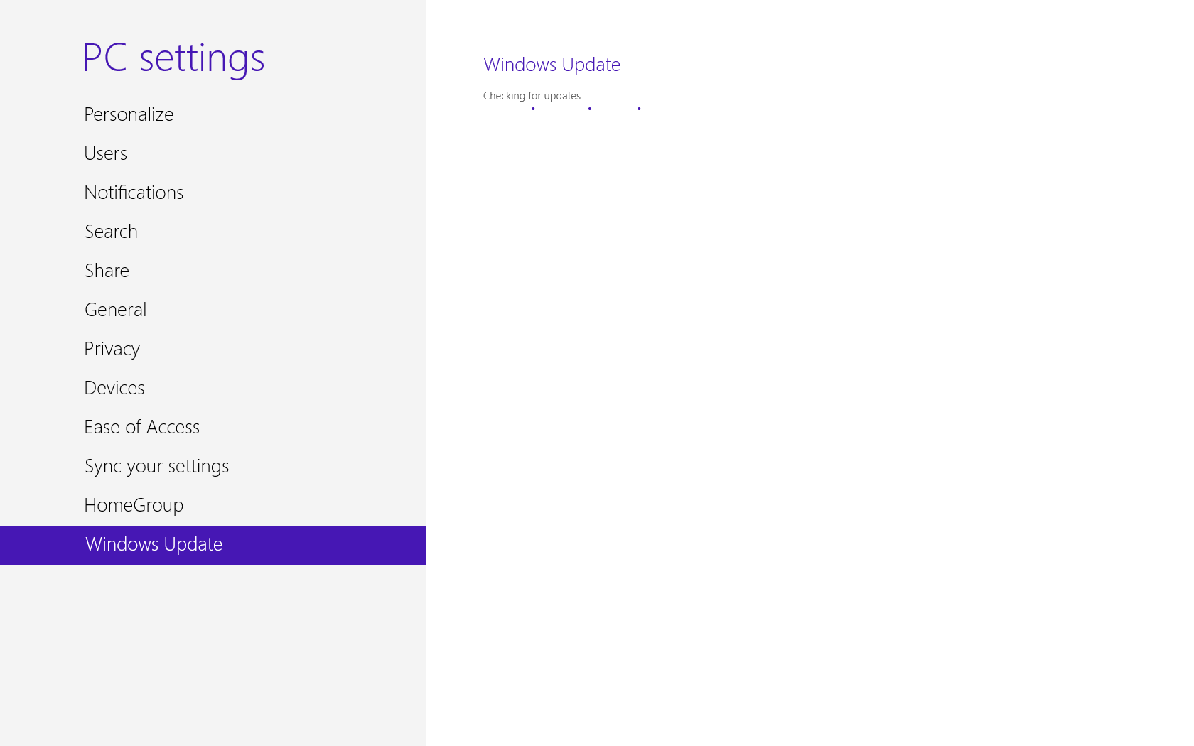 Picture of Updating Windows